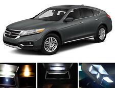 Xenon White Vanity / Sun visor  LED light Bulbs for Honda Accord Crosstour 4 Pcs