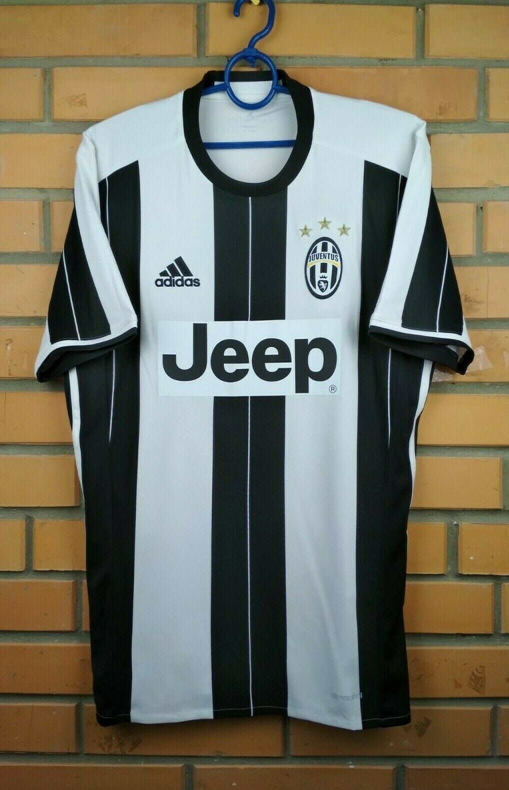 612dcf9ec72 Juventus jersey small 2016 2017 home shirt AI6241 soccer football Adidas
