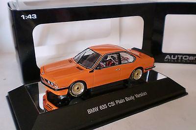 "AUTOart 68444 # BMW 635 CSi Baujahr 1984 Plain Body Version /"" dunkelblau /"" 1:43"