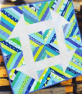 Churndash-Court-quick-amp-easy-modern-pieced-baby-quilt-PATTERN-Sassafras