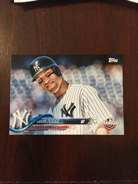 2018 Topps Opening Day Aaron Judge Ssp Smiling