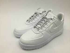 873e2c2d1f8 Details about New Mens Nike Lunar Force 1 LF1 Duckboot Low PRM Size 10  Triple White AA1124 100
