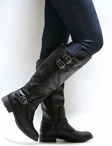 boots charlotte wid russe fmt riding quilted quilt constrain hei fit