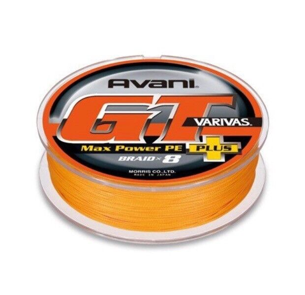 VARIVAS AVANI 8 X BRAID LINE  GT MAX POWER PE PLUS 12 300m 328yds  free and fast delivery available