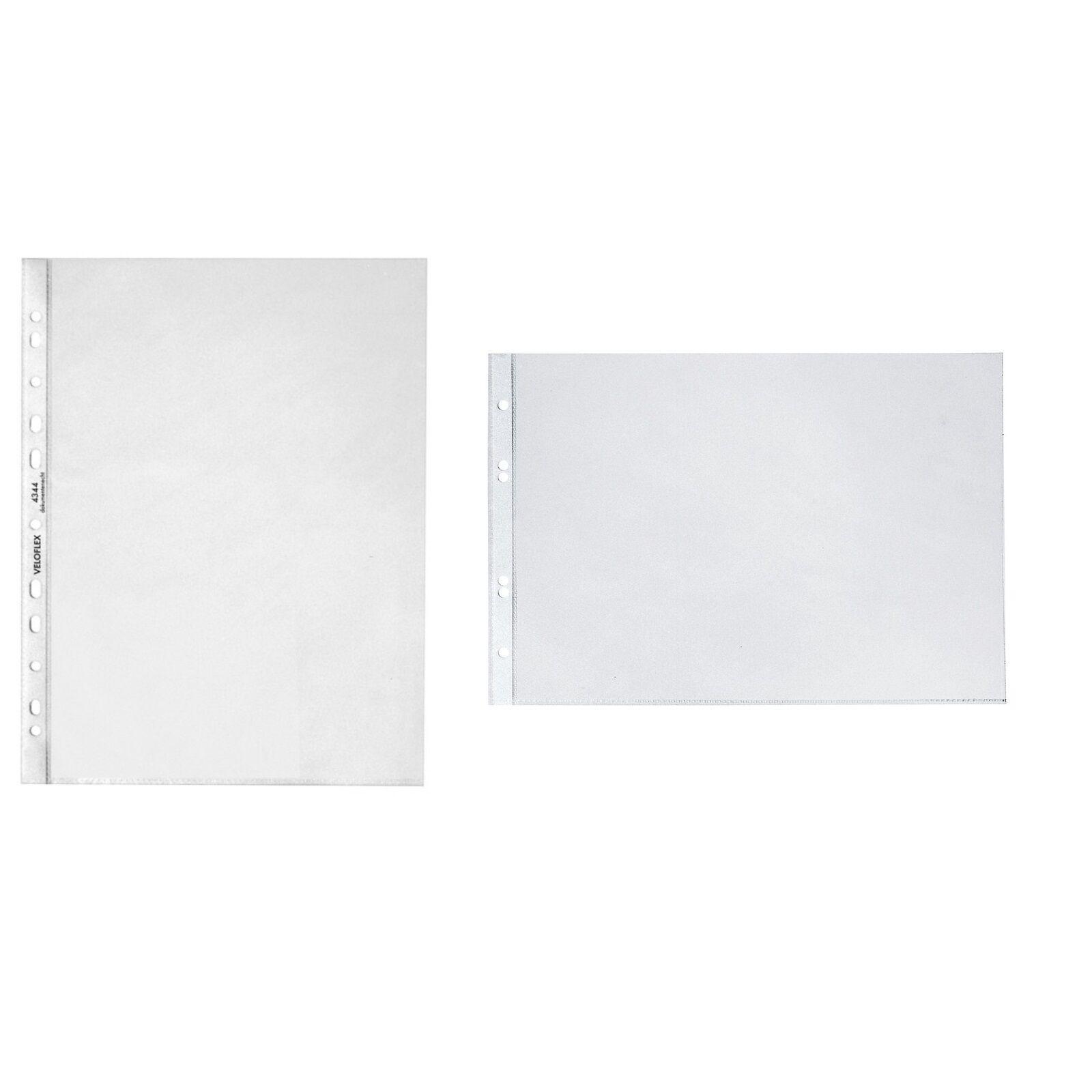 10 od. 100 St Prospekthülle Klarsichthüllen für Tischflipchart A3 quer hoch klar | Günstig  | Qualität Produkte  | Trendy