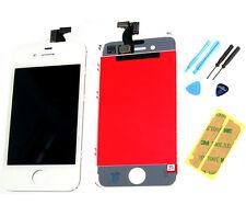 Iphone 4 4g Pantalla Lcd Táctil Digitalizador De Pantalla Panel Frontal pegatina herramientas Blanco