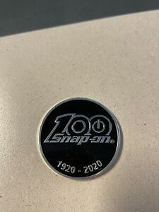 Black Snap-on Tools 100th Anniversary Coin