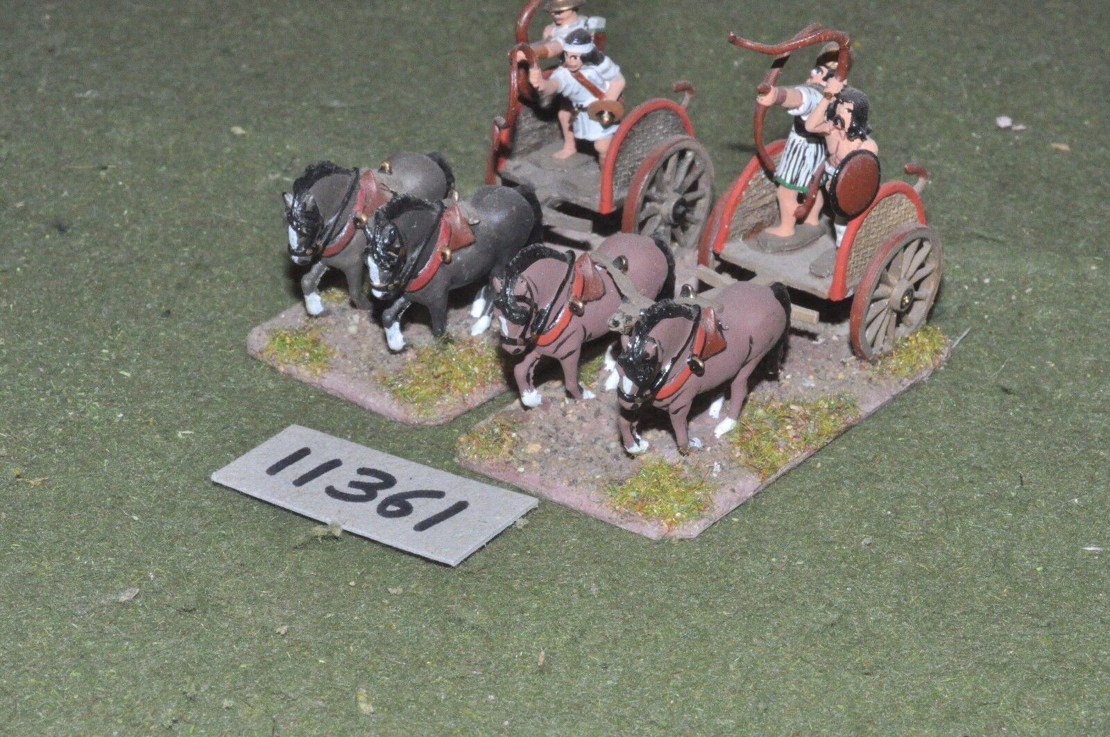 25mm medieval medieval medieval   gasgan - chariots 2 chariots - chariots (11361) ff1bfa