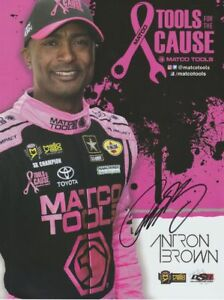 2eff8ad1d 2018 Antron Brown signed