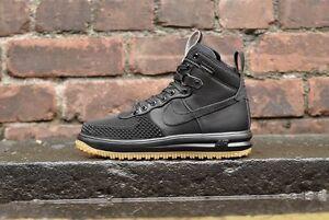 de Lunar pato o 8 One Force Negro 805899 Nike arranque Botas tama 5 1 goma 003 4FBaww