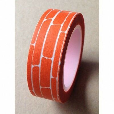 Washi Tape Pictoral 10m+ Roll Decorative Sticky Paper Masking Tape Adhesive