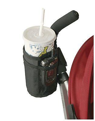 mummy out Kid Baby Stroller pram black bottle pocket bag keep warm cup holder