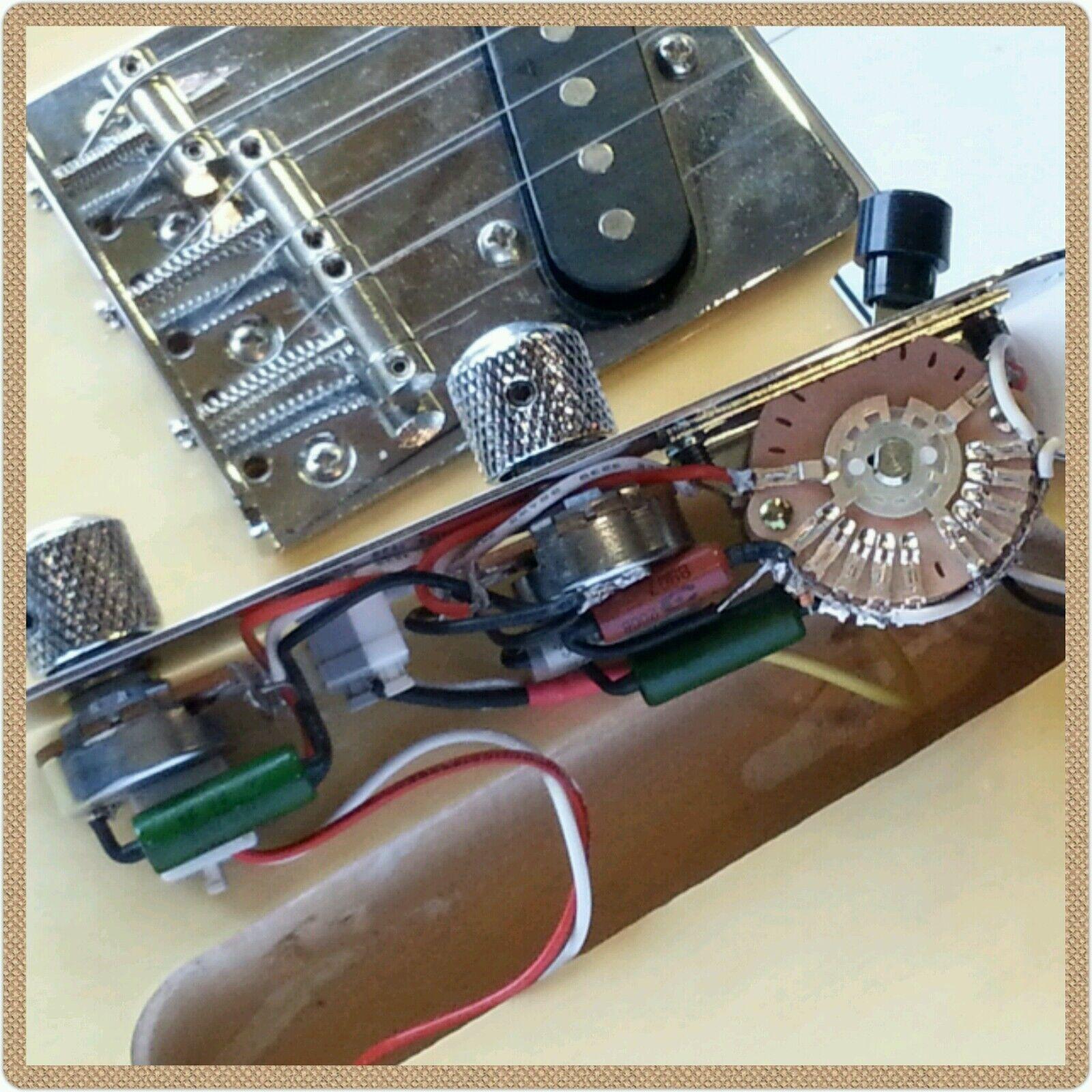 Arlo Cocked Wah & Eldrot Tone Mod Esquire Telecaster control plate upgrade kit