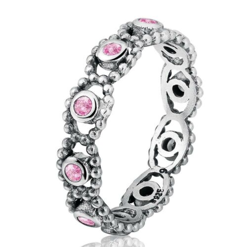 Women Rings Silver Color Finger Thumb Ring Band Lady Wedding Gift US Size 5-10