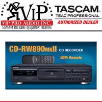 Teac Cd-rw890mkii-b Cd Recorder Cd-r Cd-rw, Dubbing / Recorder W/remote Rw890mk2