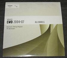 Electronic Wiring Diagram auf CD Volvo 2004 - 2007 Alle Modelle Schaltpläne!