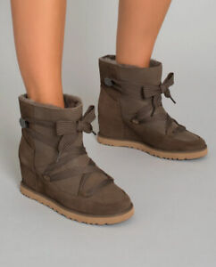 Ugg Australia Boots Femme Booties Lace