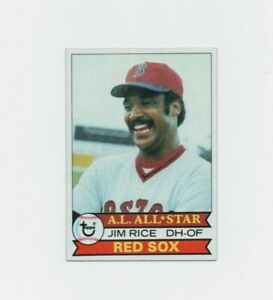 1979 Topps Jim Rice #400 Baseball Card - Boston Red Sox HOF