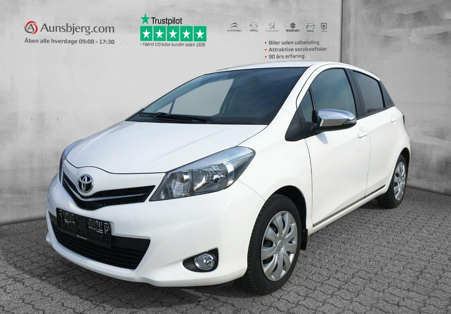 Toyota Yaris 1,0 VVT-i T2 Style 5d - 94.500 kr.