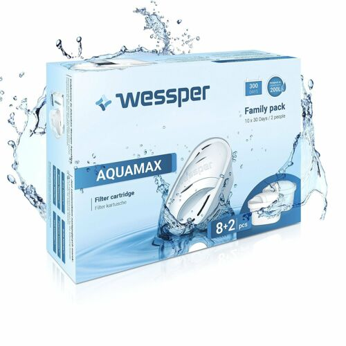 mit Brita MAXTRA PEARL CO Aquaphor MAXFOR 10 X Filterkartuschen Wessper komp