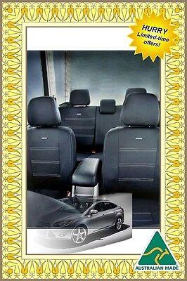 Seat Cover Mitsubishi Pajero 2000-Now Front & Rear Waterproof Premium Neoprene
