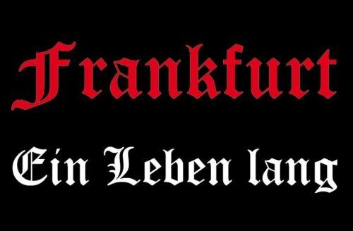 Ricamate Francoforte una vita aufbügler Patch 9 x 6 cm