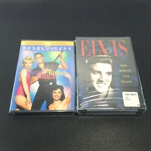 ELVIS DVD LOT: King of Entertainment & Rare Moments with the King + GIRLS GIRLS