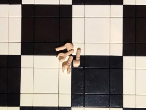 2 Pairs Spare Parts Lego Flesh Minifigure Hands x 4 Bulk Joblot