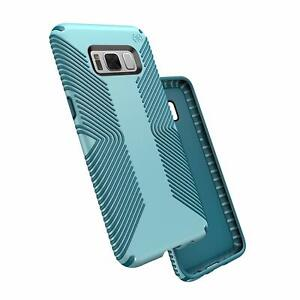 release date: 2c3bb acde4 Details about Speck Products Presidio Grip Cell Phone Case Samsung Galaxy  S8 - Robin Egg Blue