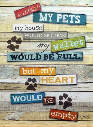 Marla Rae My Pets Art Print 12 x 16