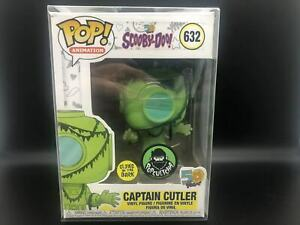 Funko-Pop-Scooby-Doo-Captain-Cutler-632-Popcultcha-Ex-Mint-With-Protector