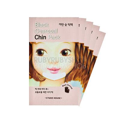 [ETUDE HOUSE] Black Charcoal Chin Pack - 5pcs RUBYRUBY