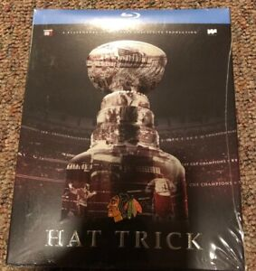 Chicago-Blackhawks-Hat-Trick-BLURAY-Stanley-Cup-Championship-2015-NEW-SEALED-OOP