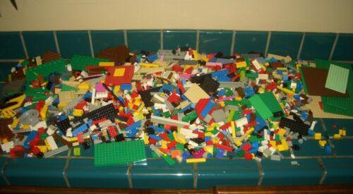 Random Lego Pieces Bricks  Parts Mix Colors too man to count Huge Lot 2000