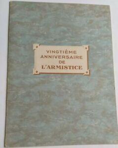 Vingtième Anniversaire De L'armistice WW1 14-18 - GEORGES CLÉMENCEAU - SANOGYL