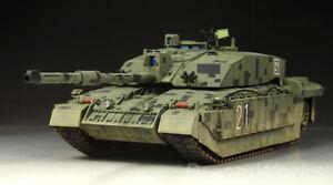3f37eb878c02 Award Winner Built Tamiya 1 35 Digital Challenger II Main Battle ...