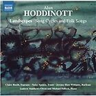 Alun Hoddinott - : Landscapes; Song Cycles and Folk Songs (2014)