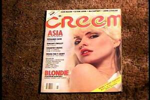 CREEM-MAGAZINE-AUG-1982-VF-BLONDIE-DEBBIE-HARRY-ROCK-amp-ROLL