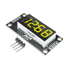 Yellow Tm1637 036 Inch 7 Segment 4digit Led Display Clock Led Tube Module
