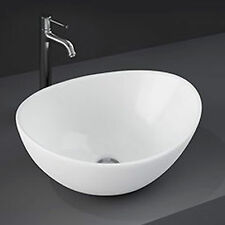 Lavabo a bacinella d'appoggio in ceramica finitura opaca 39 cm