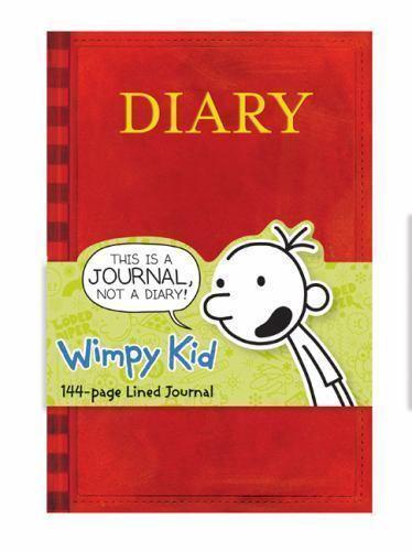 Diary of a wimpy kid book journal by mudpuppy press staff and jeff diary of a wimpy kid book journal by mudpuppy press staff and jeff kinney 2013 diary journal blank book ebay solutioingenieria Gallery