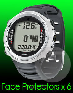 Suunto-D4i-watch-face-protector-x-6-protection-Protect-your-watch-from-scratches
