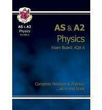 AS/A2 Level Physics AQA A Complete Revision & Practice by CGP Books (Paperback,