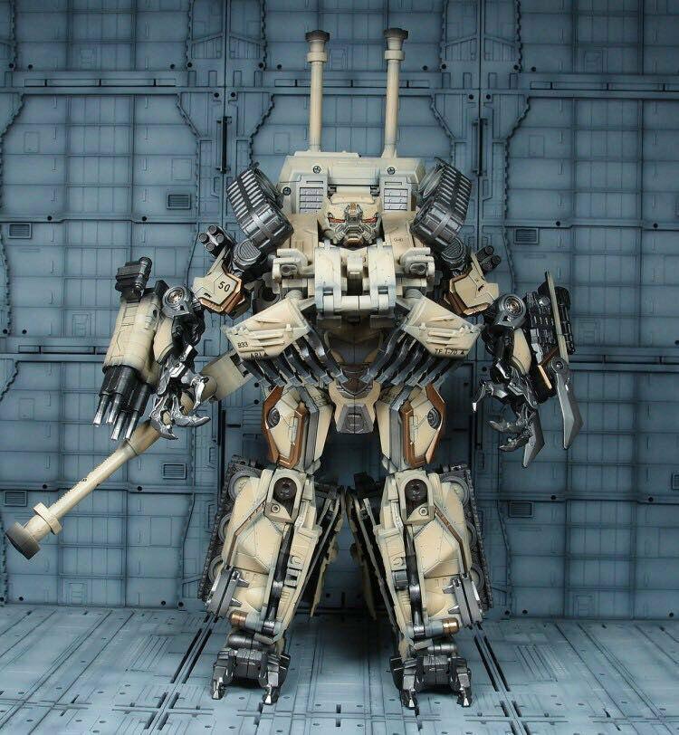 Juguete Transformers Transformers sueño Studio GOD-02S Brawl M1A1 Tanque Desierto Coloree Nuevo