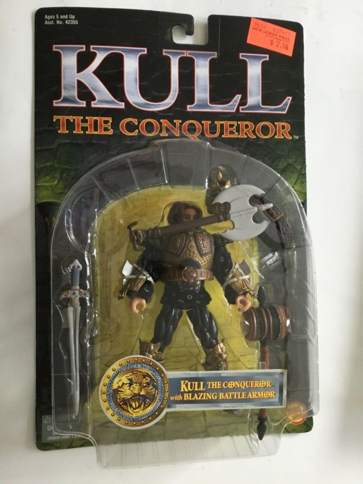 KULL THE CONQUERER  WBLAZING battaglia ARMOR 1997 giocattolo BIZ  Vintage Collectible