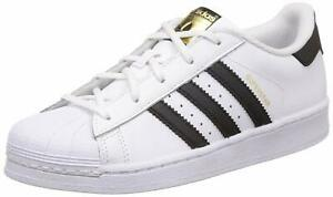 adidas-Superstar-C-Scarpe-da-Basket-Unisex-Bambini-BA8378-SUPERSTAR-C-JR
