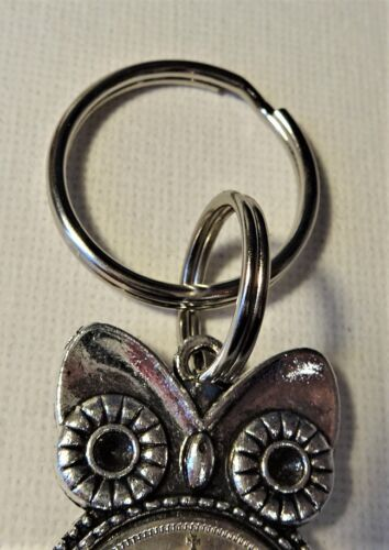 1921//36 FARTHINGS PICK YOUR OWN DATE wise old Owl Charm keyring