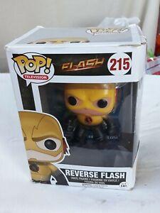 Funko-Pop-Television-Reverse-Flash-215-New-Boxed-Figure