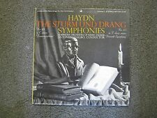 Haydn: The Sturm und Drang Symphonies LP Janigro Symphony Radio Zagreb vinyl