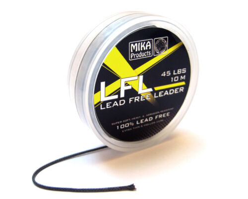 Rig MIKA Products Lead Free Leader 45 lbs 10m Montage Karpfen bleifrei